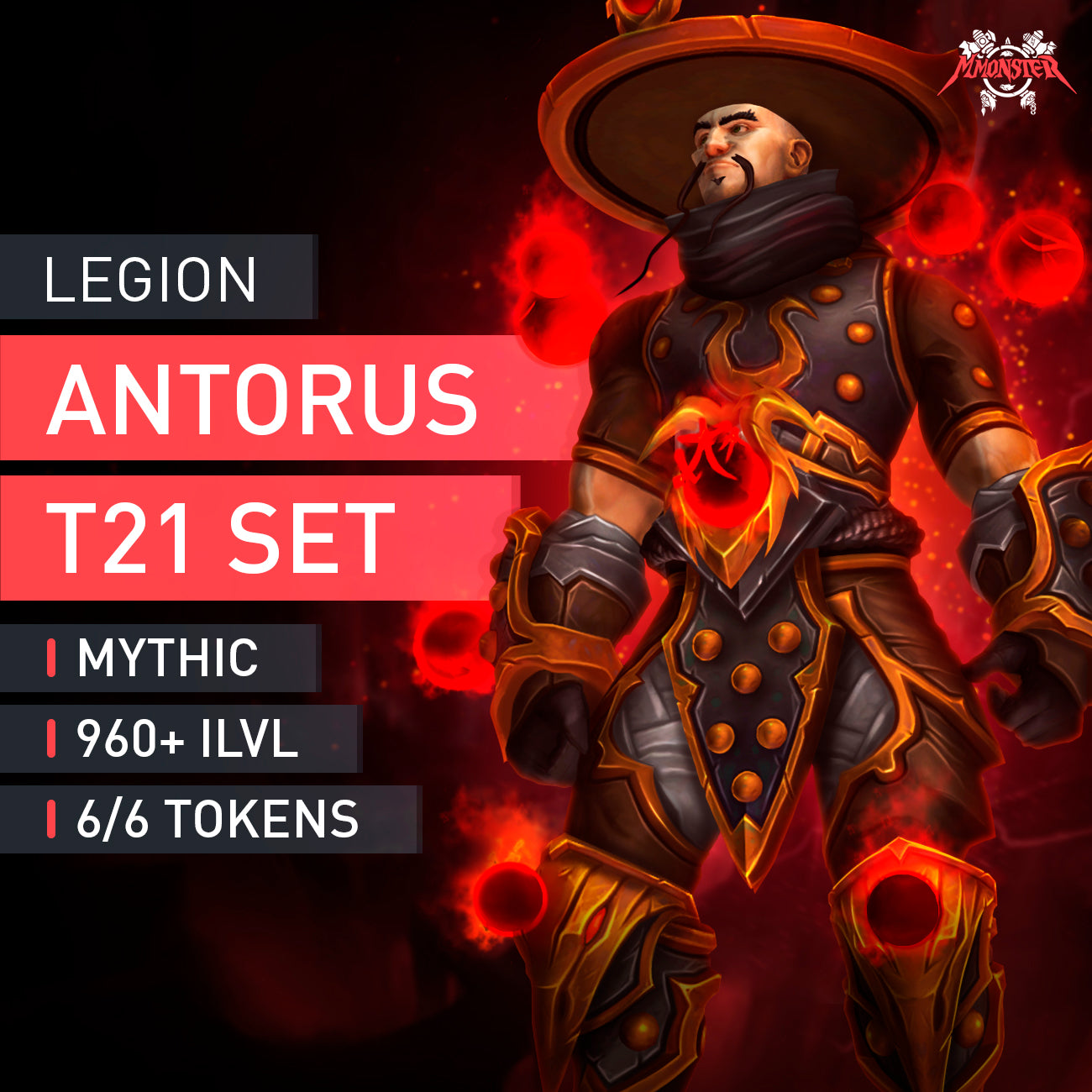 Antorus, the Burning Throne Mythic Full T21 Set - MMonster