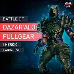 Battle of Dazar'alor Heroic Full Gear - MMonster