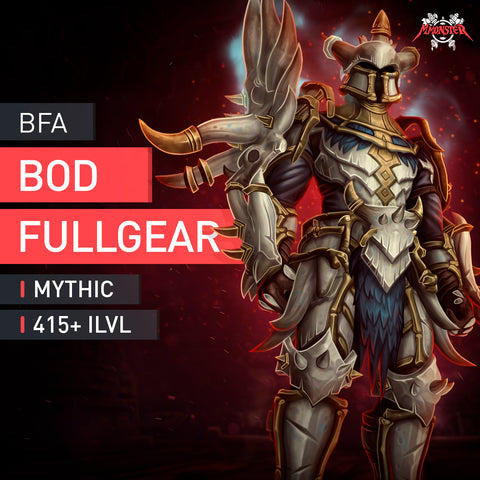BoD Mythic Full Gear Boost Carry - MmonsteR