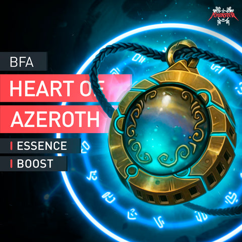 Heart of Azeroth Essence Boost - MmonsteR
