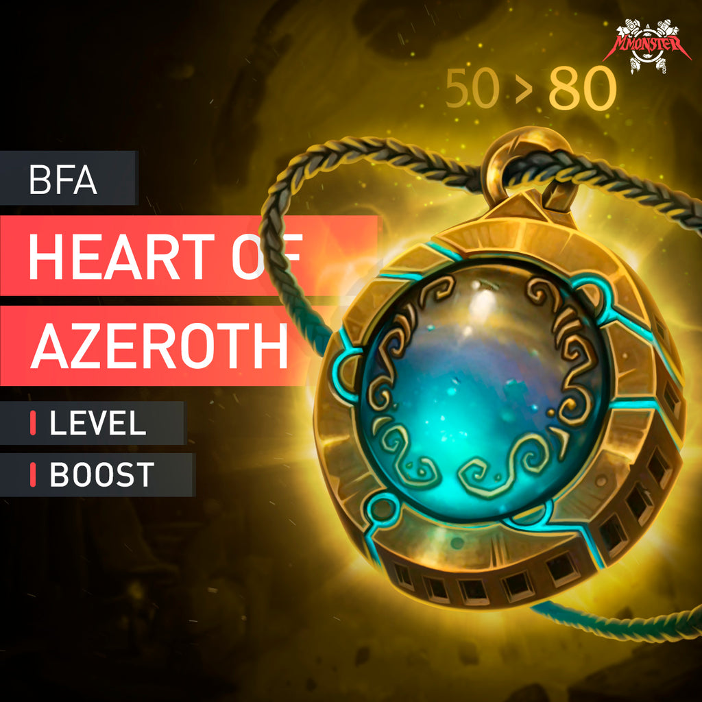 Heart of Azeroth Boost - MmonsteR
