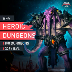 Heroic Dungeons Boost Run - MMonster