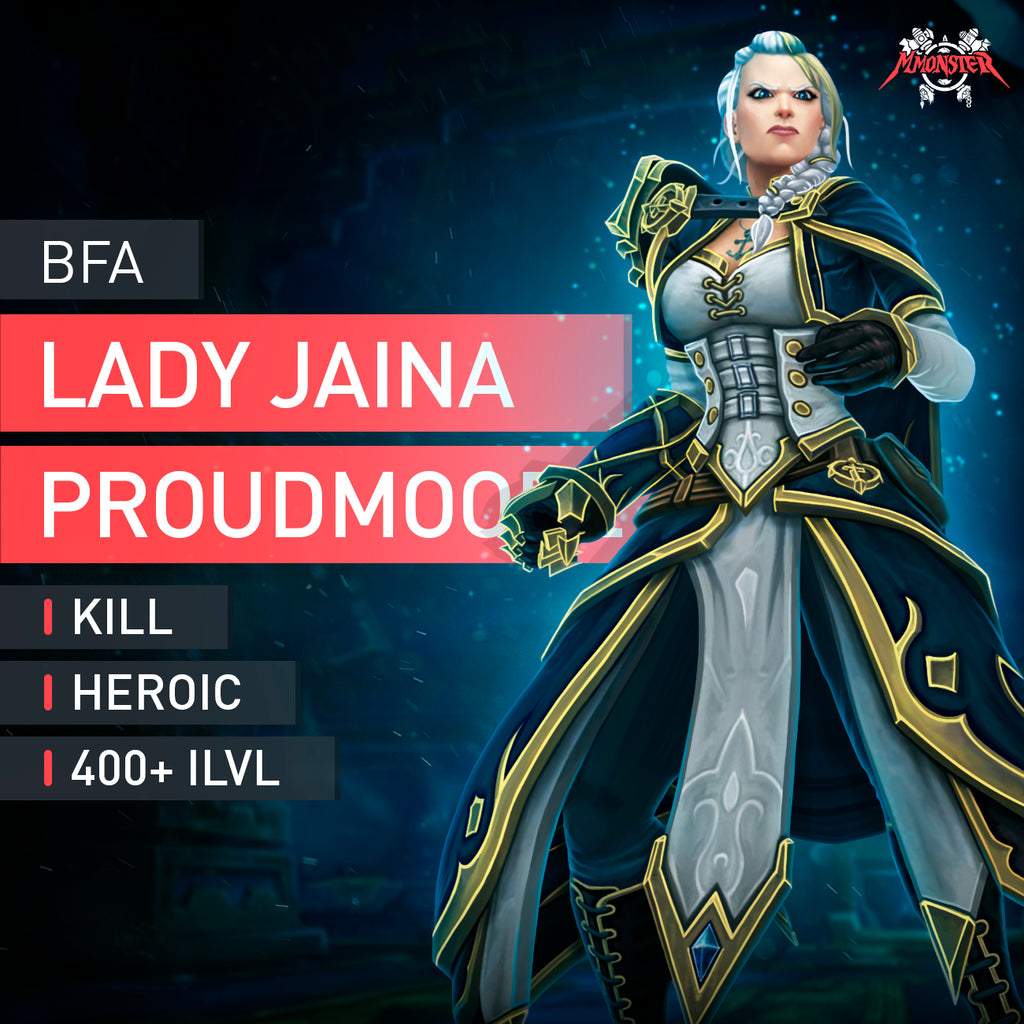 Lady Jaina boost