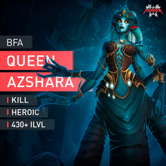 Queen Azshara Heroic Kill - MmonsteR