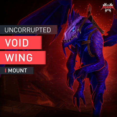 Uncorrupted Voidwing Mount - MmonsteR