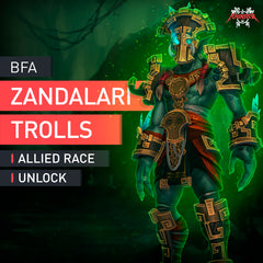 Zandalari Trolls Allied Race Unlock Boost - MMonster