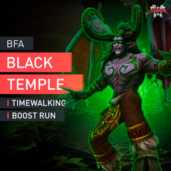 The Black Temple Timewalking - MMonster