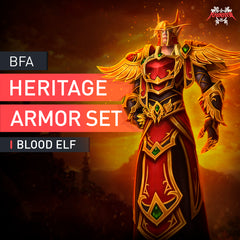 Blood Elf Heritage Armor Set - MmonsteR