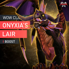 Onyxia's Lair Raid Boost Run - MmonsteR