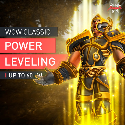 WoW Classic 1-60 Leveling Boost - MmonsteR