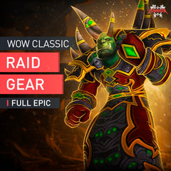 Full Epic Raid Gear Farm Boost