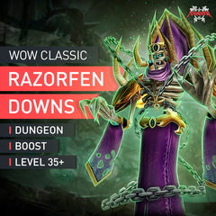 Razorfen Downs Dungeon Boost Run