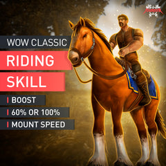 WoW Classic Riding Skill Boost