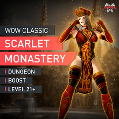 Scarlet Monastery Dungeon Boost Run
