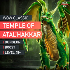 Temple of Atal'Hakkar Dungeon Boost Run