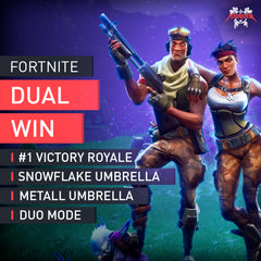 Fortnite Battle Royale Duo Win