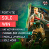Fortnite Battle Royale Solo Win