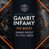 Destiny 2 Gambit Infamy Rank Boost