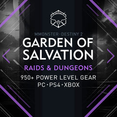 Destiny 2 Garden of Salvation Raid Boost