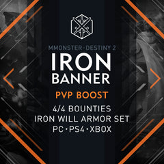 Destiny 2 Iron Banner Boost