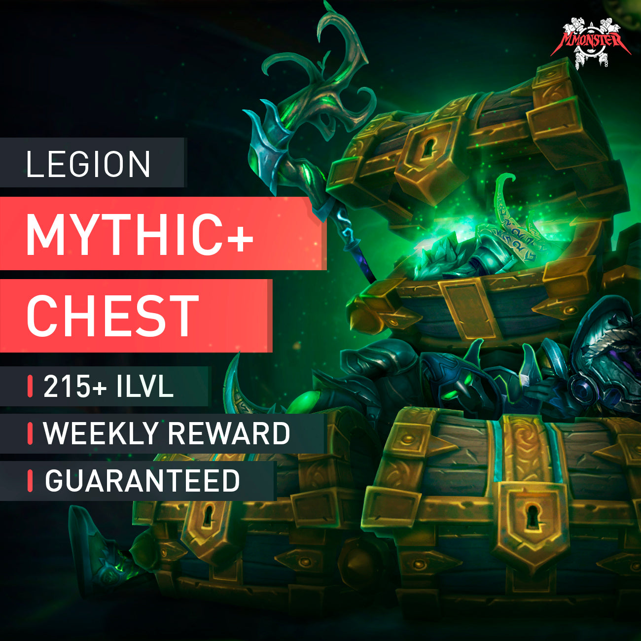 Legion Mythic+ 10 Weekly Chest - MMonster