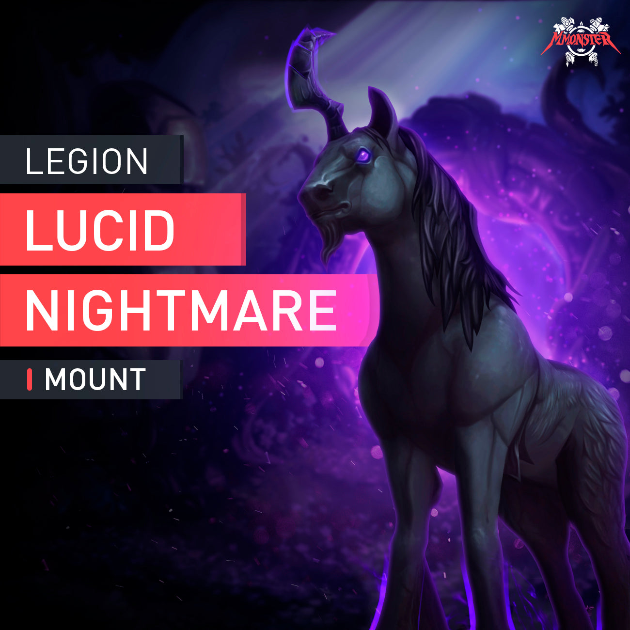 Lucid Nightmare Mount - MMonster