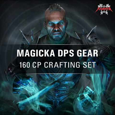 ESO Magicka DPS Gear Crafting Set Build Caster - MmonsteR