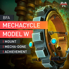 Mechacycle Model W Mount - MmonsteR