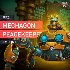 Mechagon Peacekeeper Mount - MmonsteR