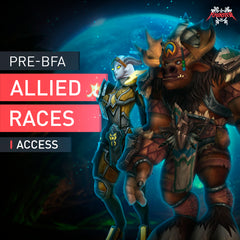 Pre-BFA Allied Races Access - MmonsteR