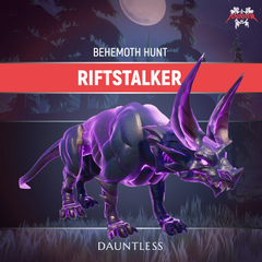 Dauntless Riftstalker Behemoth Kill