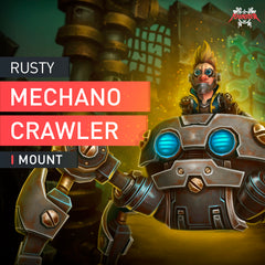 Rusty Mechanocrawler Mount - MmonsteR