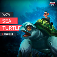 Sea Turtle Mount - MMonster
