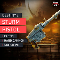 Sturm Exotic Quest (Exotic Hand Cannon) - MMonster