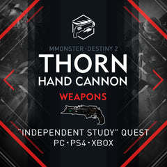 Destiny 2 Thorn Exotic Hand Cannon