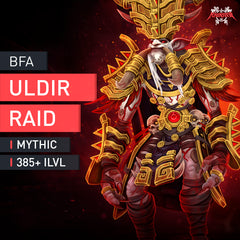 Uldir Mythic Boost - MMonster