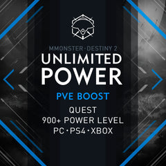 Destiny 2 Unlimited Power Quest Boost