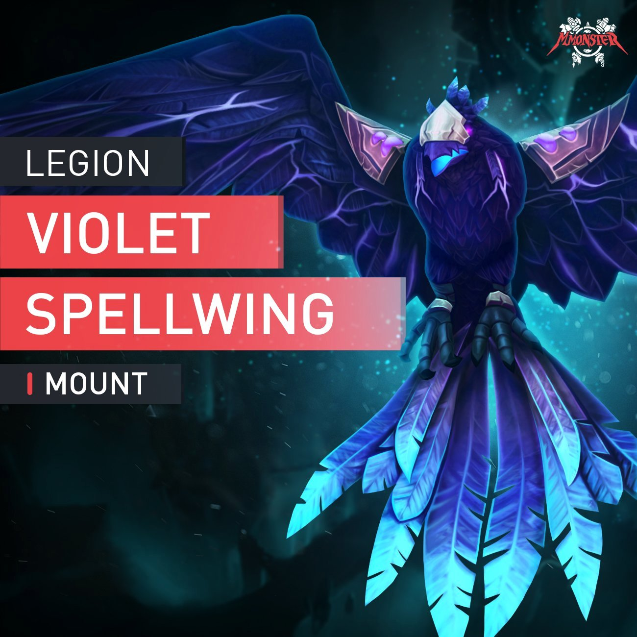 Violet Spellwing Mount - MMonster