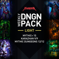 Legion Weekly DNGN Pack - MMonster