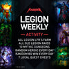 Legion Weekly Activity Pack