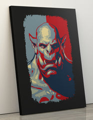 "GIXWEAR Canvas Print 60x80cm ""Bad Orc"" - MMonster"