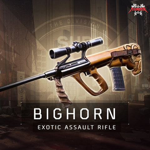 The Bighorn Assault Rifle Weapon Farm Boost - MmonsteR