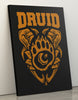 "GIXWEAR Canvas Print 60x80cm ""Druid"" - MMonster"