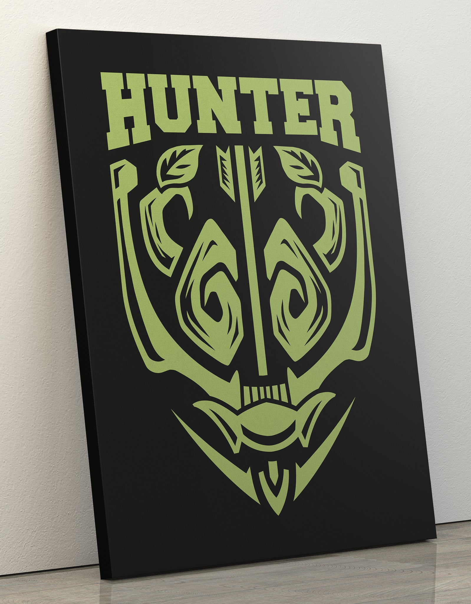 "GIXWEAR Canvas Print 60x80cm ""Hunter"" - MMonster"