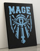 "GIXWEAR Canvas Print 60x80cm ""Mage"" - MMonster"