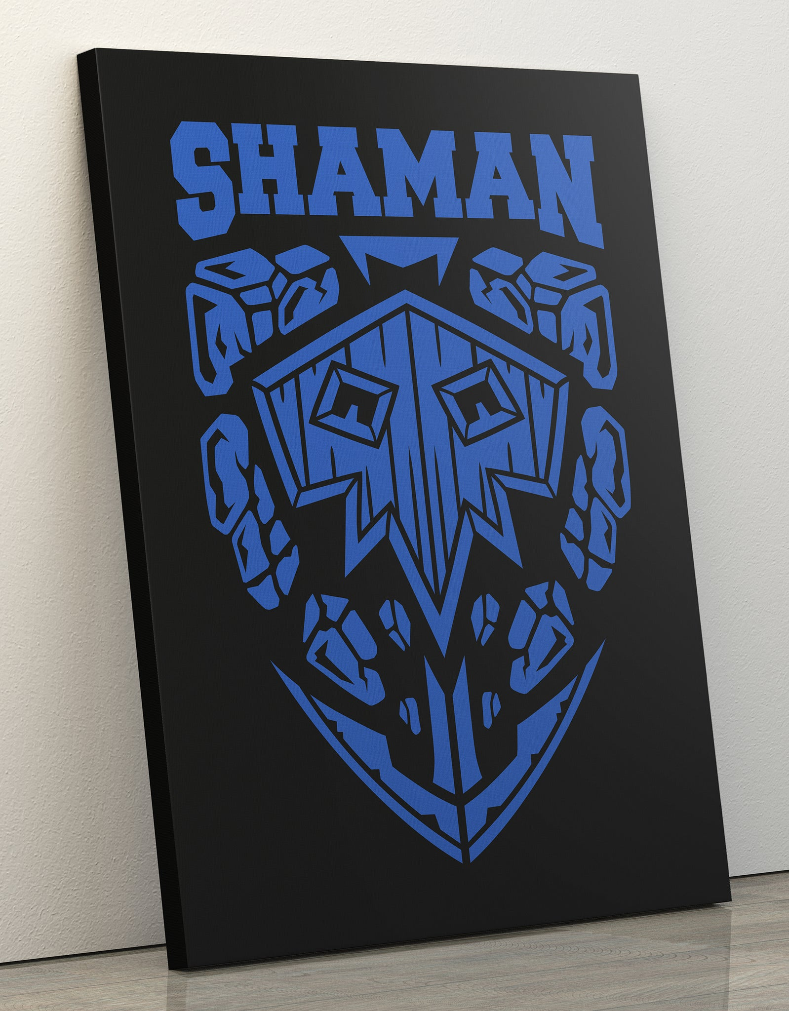 "GIXWEAR Canvas Print 60x80cm ""Shaman"" - MMonster"