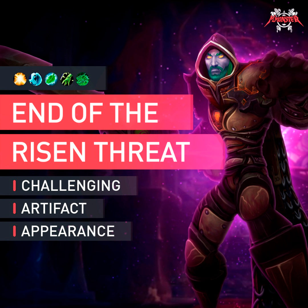 End of the Risen Threat - MMonster