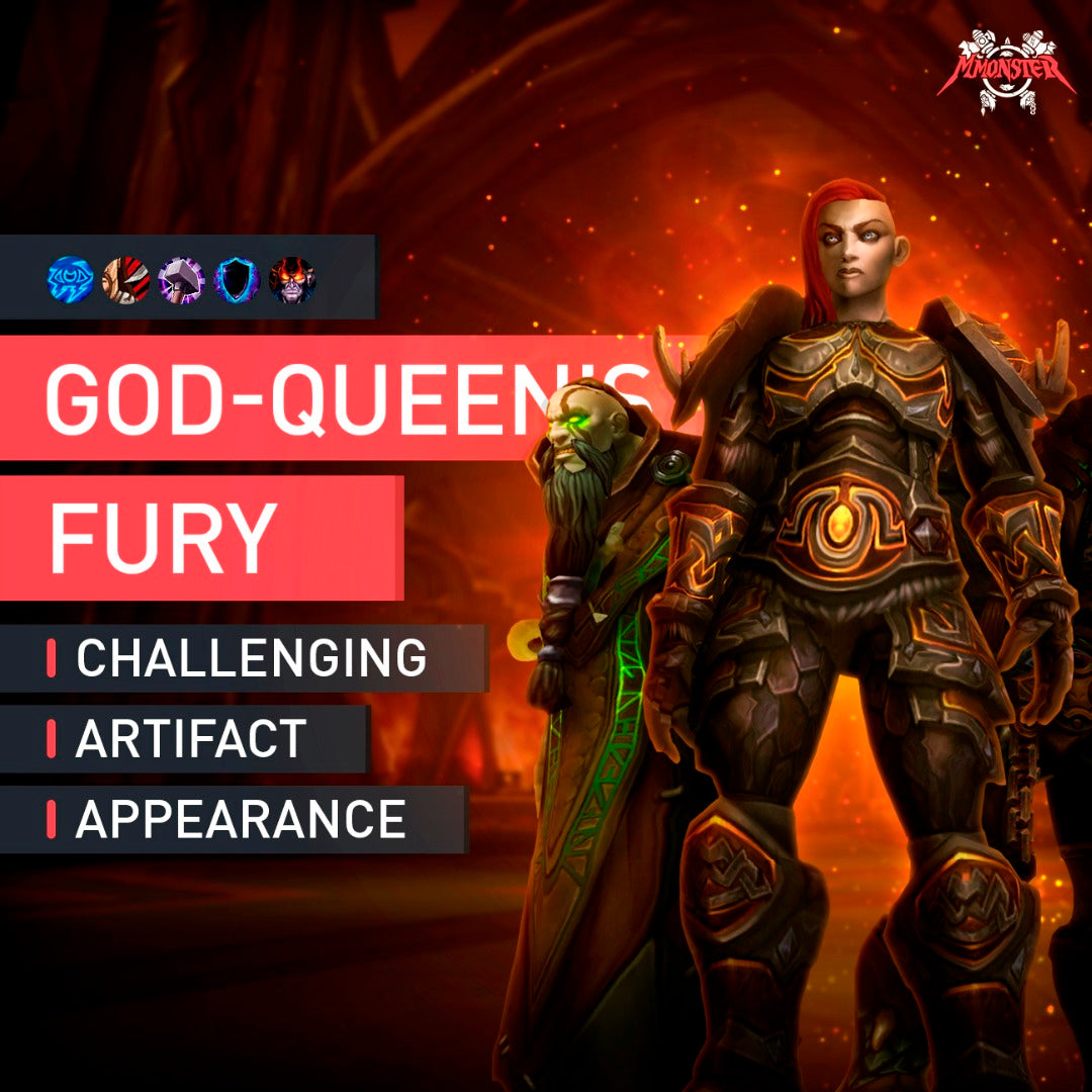 The God-Queen's Fury - MMonster