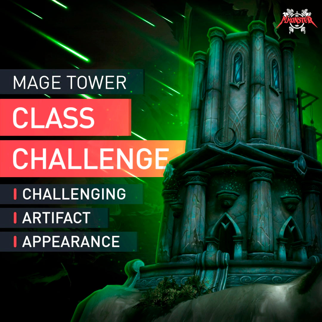 Mage Tower Class Challenge - MMonster