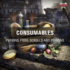 ESO Consumables Potions Food Poison Drinks Scrolls Ambrosia XP - MmonsteR